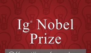 UDSAT: Ig Nobel Prize: first laugh, then think (via livestream fra Aarhus Universitet)