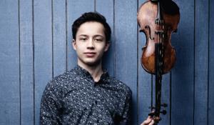 Johan Dalene, violin og Julien Que
