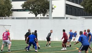 Motionsfodbold for voksne mænd i Hundested