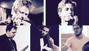 Jazz koncert Fredrik Moth Five. feat: Mathias Heise
