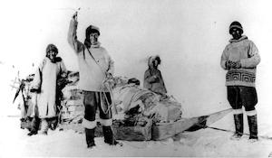 Særudstilling - Vejen til blæsebælgen - 5. Thuleekspedition 100 år