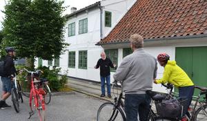 Historie på cykel- En lille tår over tørsten?