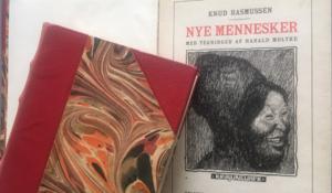 Tegn en bog - Knud Rasmussen og de nye mennesker