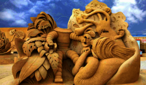 Hundested Sandskulpturfestival