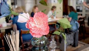 Blomstersaloner i Mejeriet i Torup i juli og august